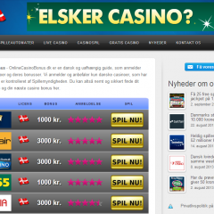 OnlineCasinoBonus.dk
