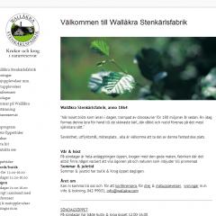 Wallakra.com – Wallåkra Stenkärlsfabrik